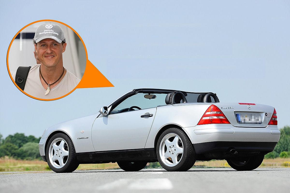 Nekada Šumaherov Mercedes SLK prodat