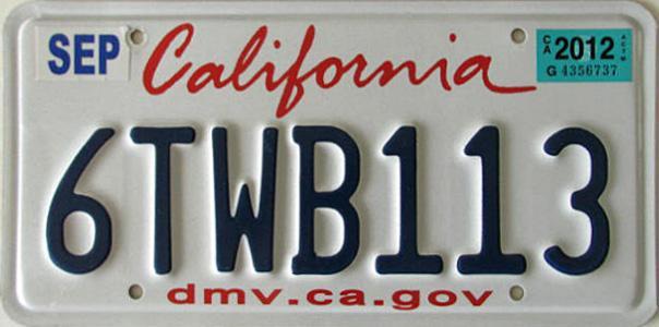 Kalifornija kreće sa eksperimentalnom upotrebom digitalnih registarskih tablica