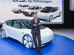 Mondial de l¥Automobile 2016 in Paris, Volkswagen Pressekonferenz am 29. September 2016