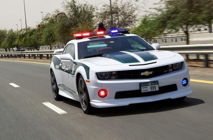 Vozni park policije u Dubaiju