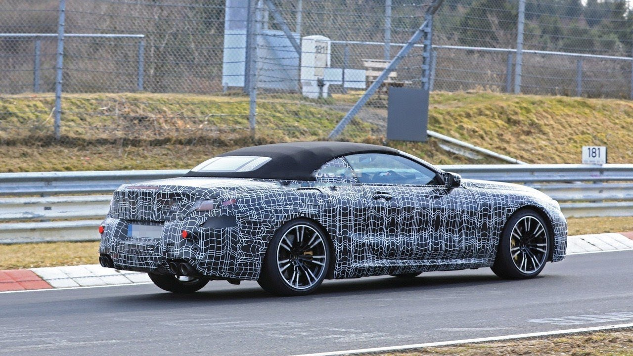 BMW M8 na Nirburgringu (VIDEO)