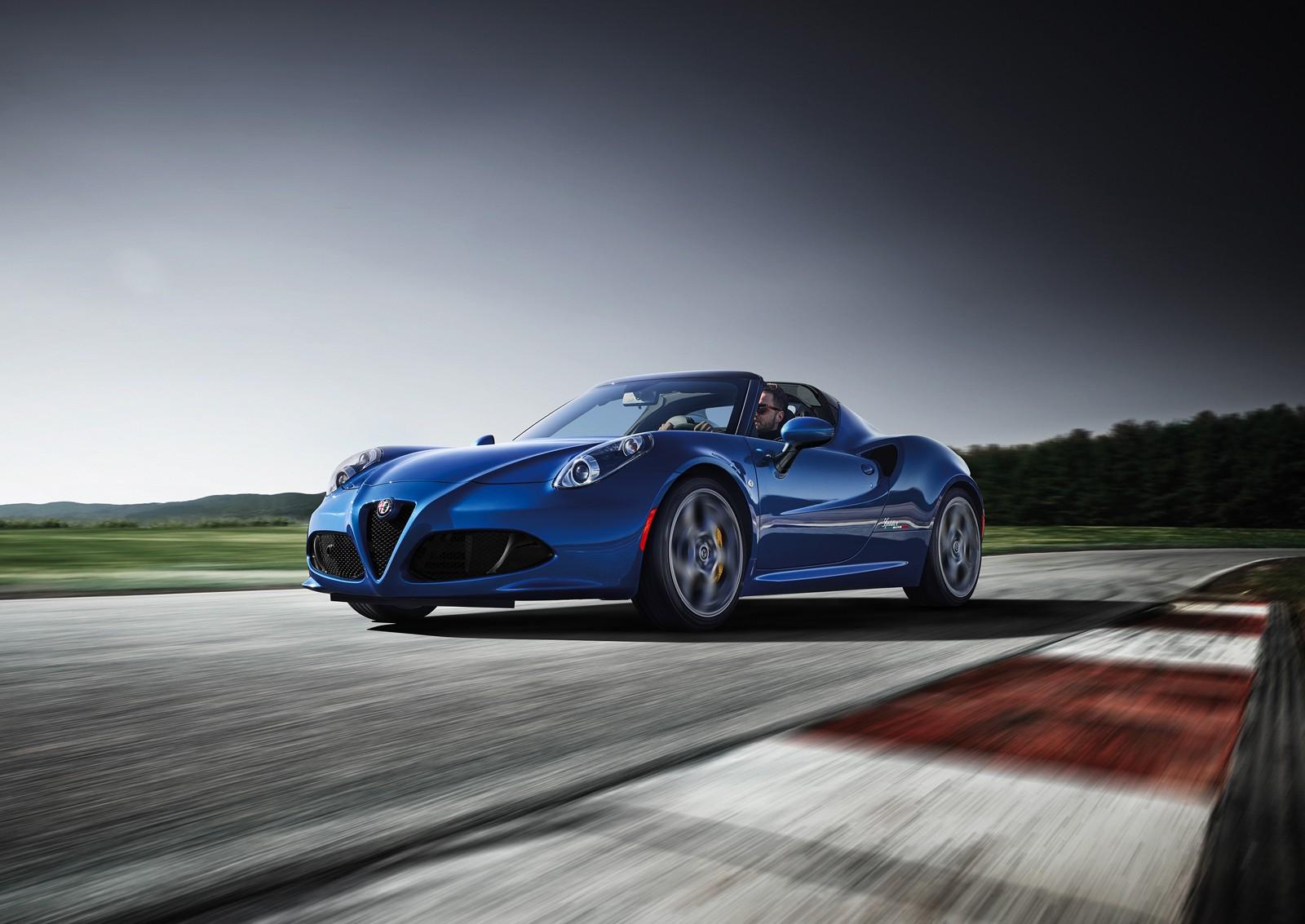 Kraj za Alfa Romeo 4C