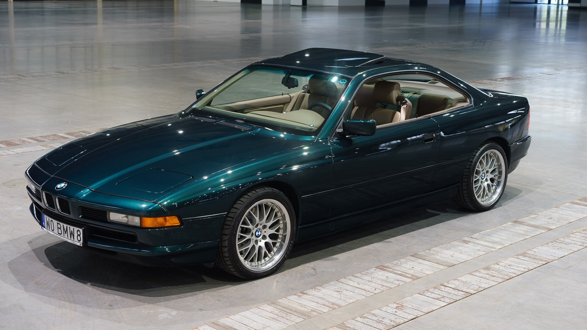 Oda legendi, oda originalu: BMW Serije 8 (E31)
