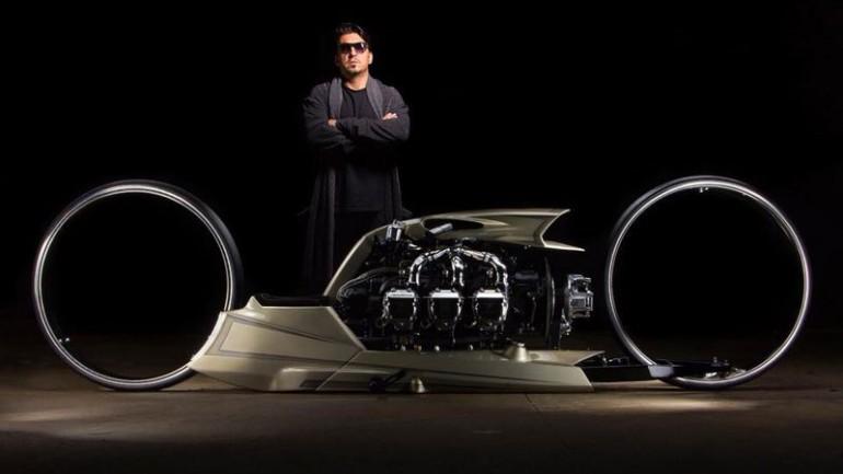 Zanimljivost dana: Koncept motocikla sa avionskim motorom (VIDEO)