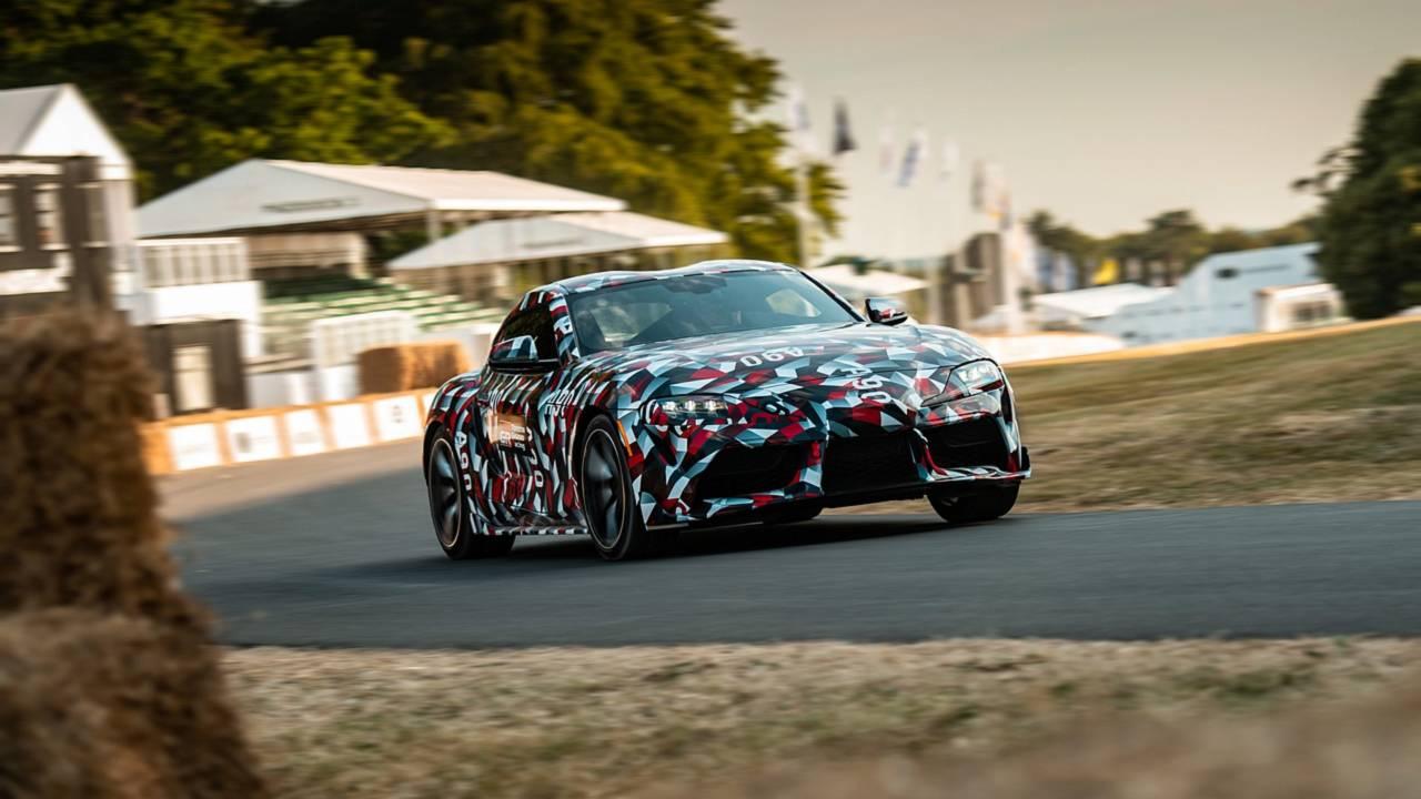 Krutost karoserije nove Supre na nivou Lexus LFA superautomobila