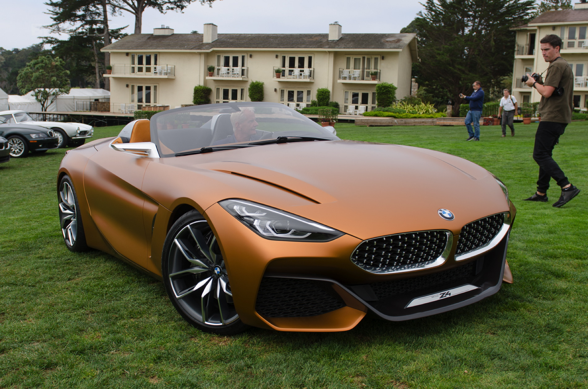BMW Z4 predviđen za premijeru na Pebl Biču?