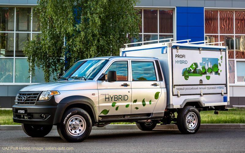UAZ je razvio prvo rusko lako komercijalno vozilo sa hibridnom tehnologijom