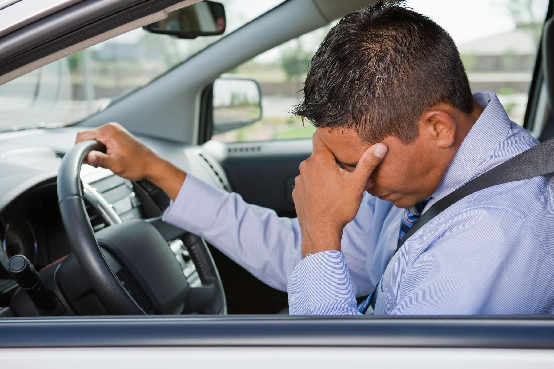 Istraživanje: Ne sedajte za volan kada ste pod stresom!