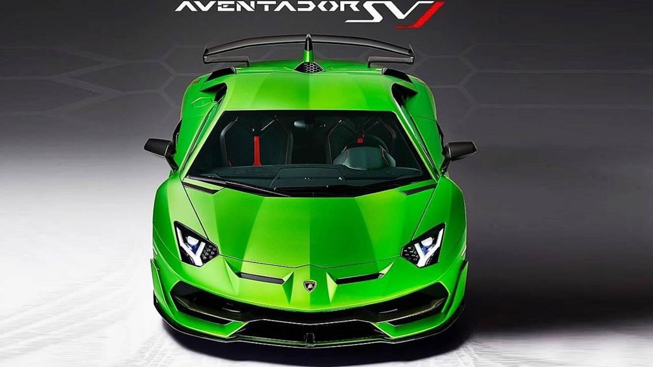 Lamborghini Aventador Super Veloce Jota – prva zvanična slika