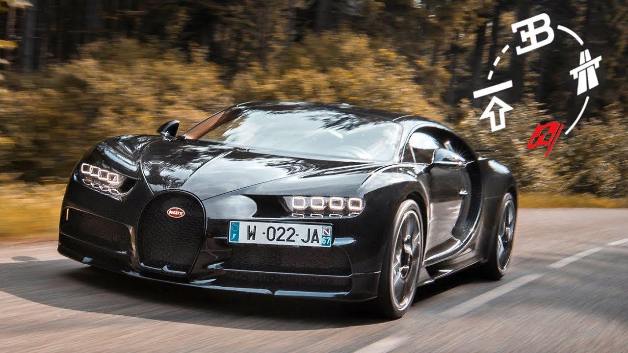 "Ko god je pomislio da Bugatti Chiron ""ne zna"" da prolazi krivine, prevario se (VIDEO)"