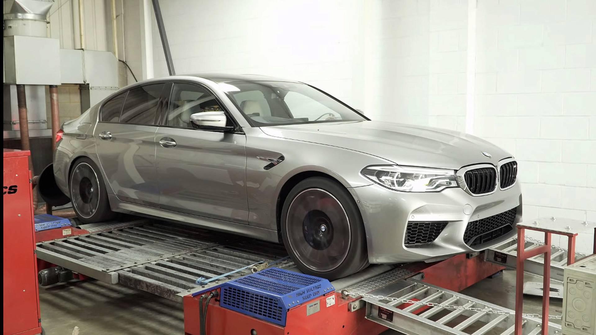 BMW M5 snažniji nego što to pokazuju fabričke specifikacije (VIDEO)