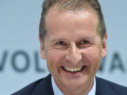German carmaker Volkswagen annual news conference in Wolfsburg