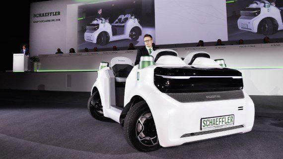 """Schaeffler će raspolagati naprednom """"drive-by-wire"""" tehnologijom za autonomna vozila"""