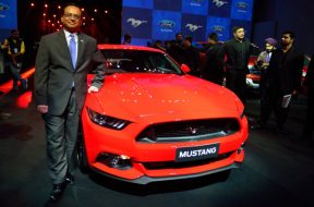 Launch of Ford mustang
