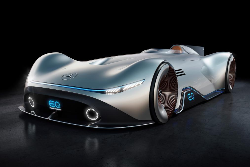 Mercedes EQ Silver Arrow koncept predstavljen na Pebl Biču