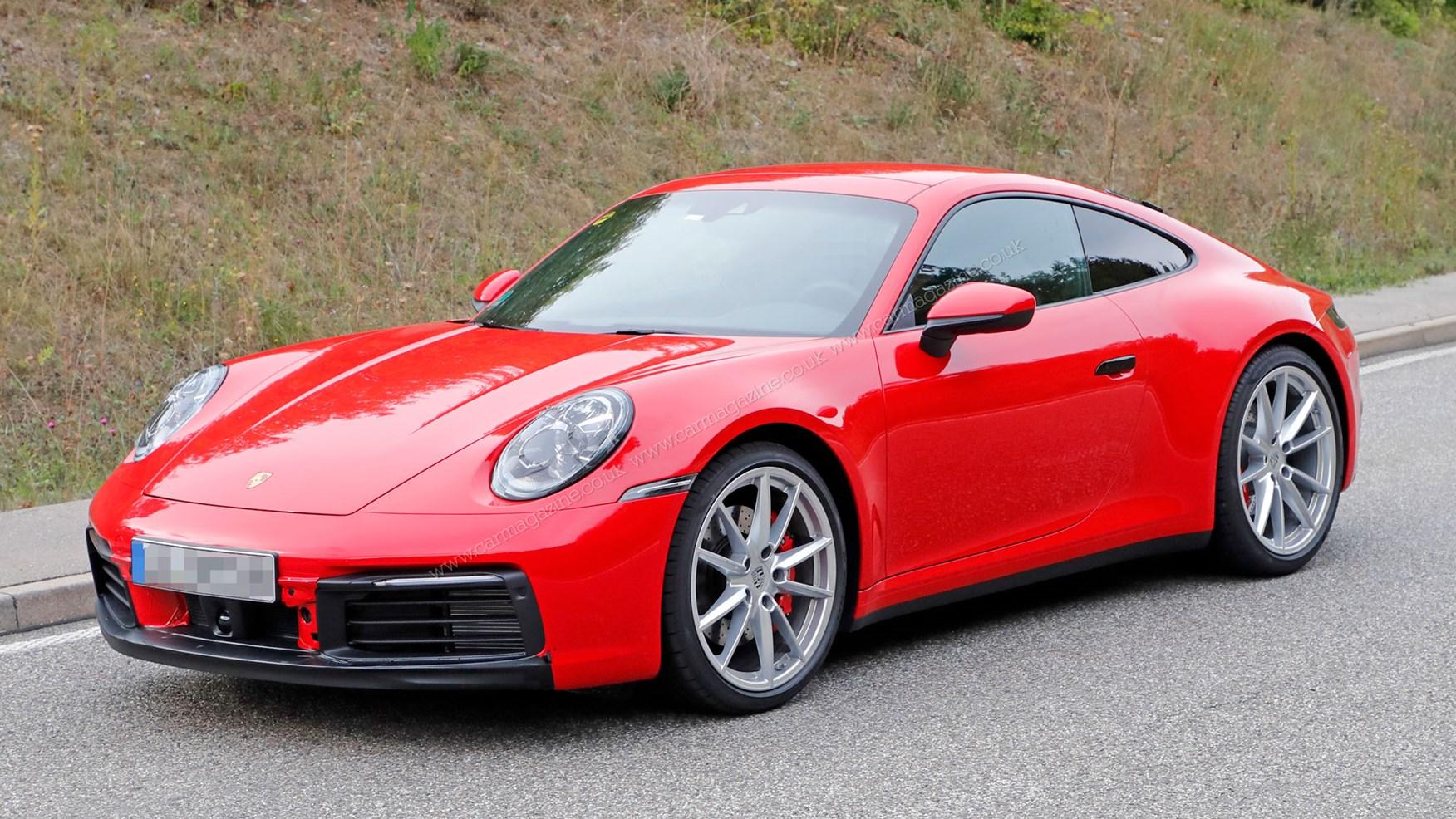 Porsche 911 generacije 992 – nove fotografije