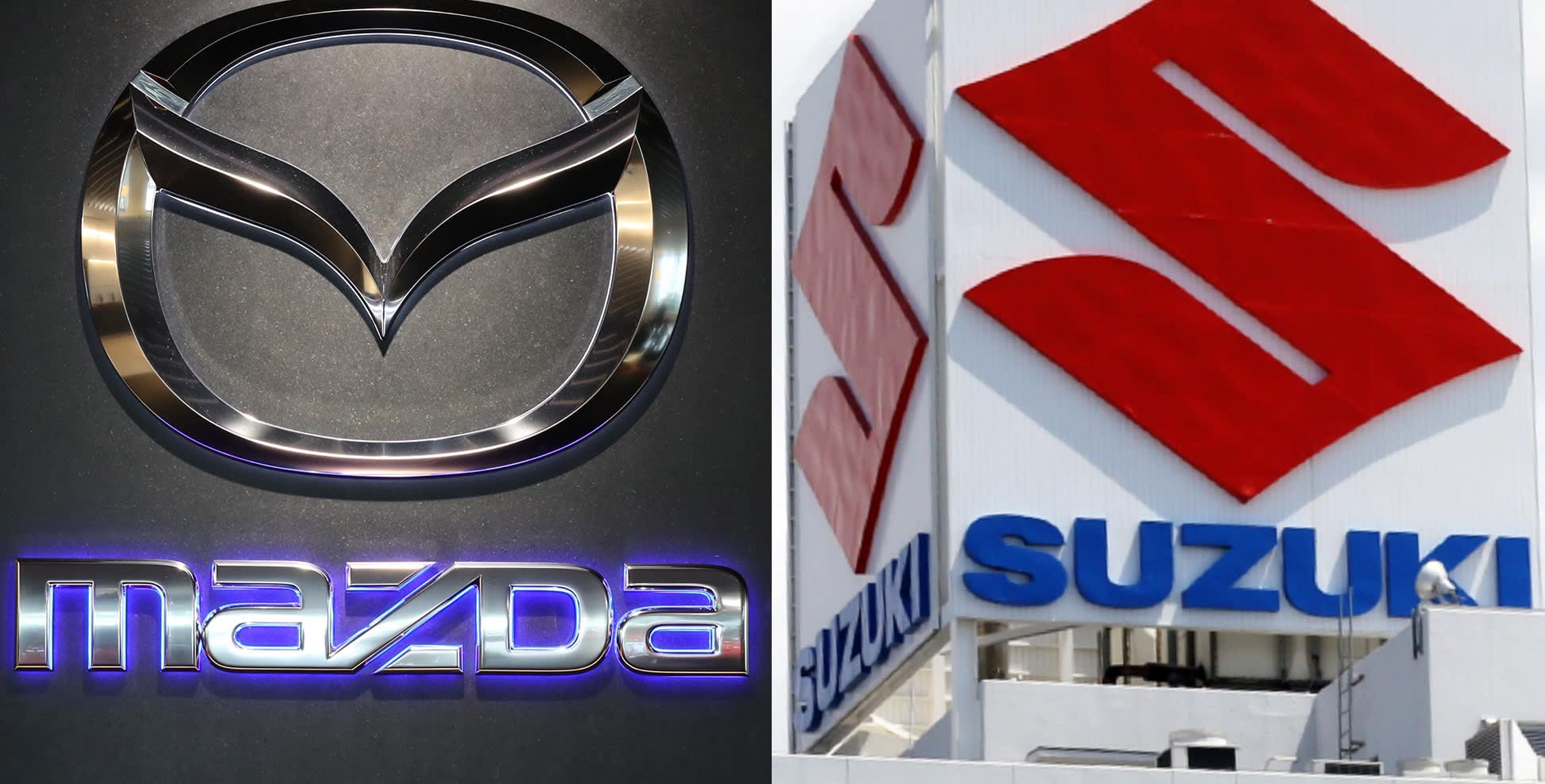 Mazda, Suzuki i Yamaha uhvaćeni u prevari