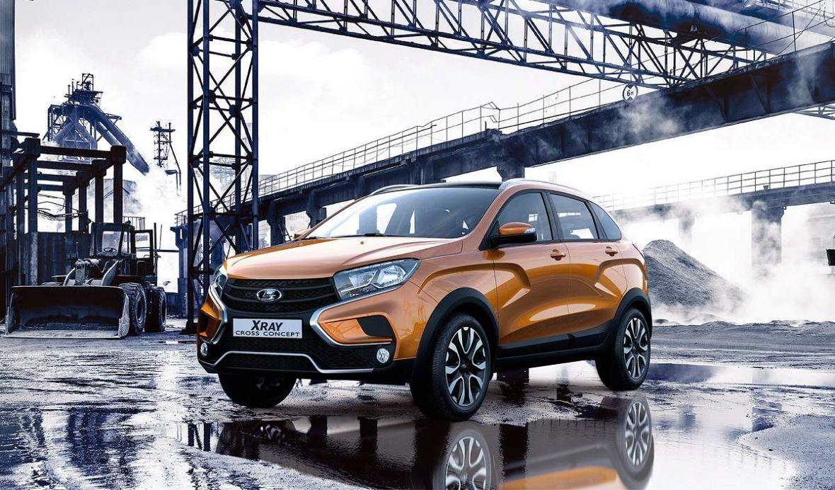 Još poneki detalj pred premijeru hedžbek modela Lada XRAY Cross