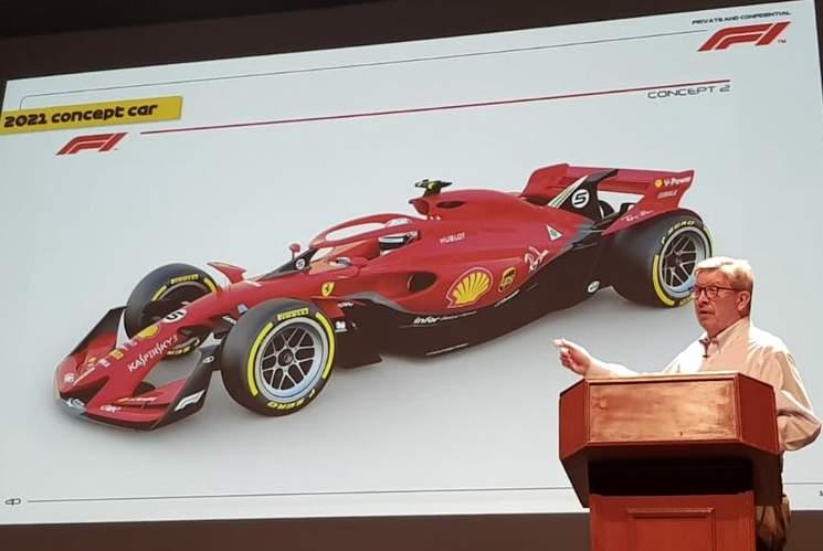 Ros Bron predstavio novi koncept bolida Formule 1