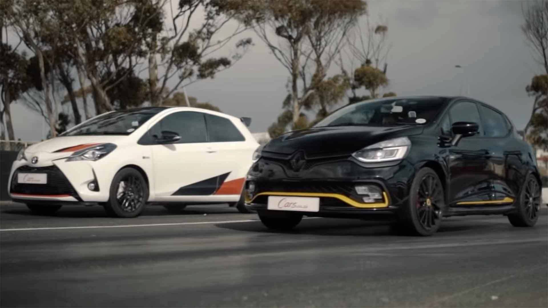 Toyota Yaris GRMN vs Renault Clio R.S. 18 (VIDEO)