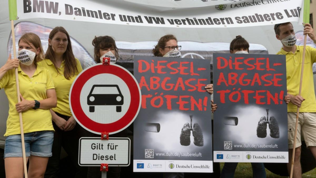 Regionalna vlada se usprotivila zabrani dizelaša u Frankfurtu