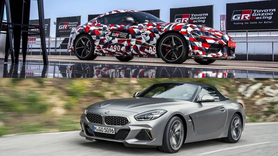 Toyotini i BMW-ovi inženjeri nisu komunicirali u vezi sa Suprom/Z4 od 2014.