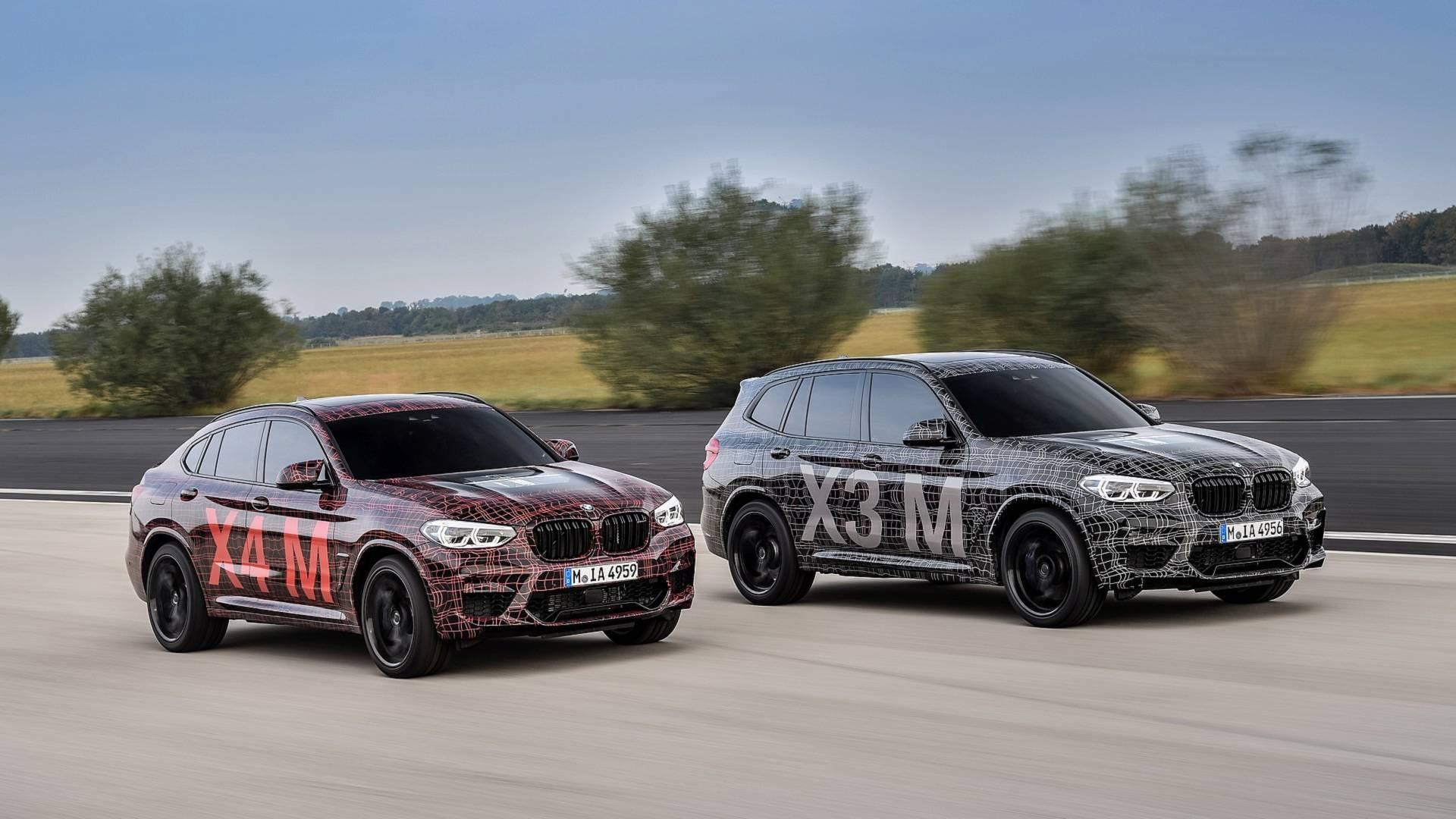 BMW X3 M i X4 M spremni za proizvodne linije (GALERIJA)