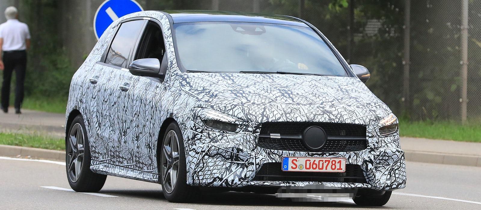 Špijuniran prototip Mercedes-Benza B klase
