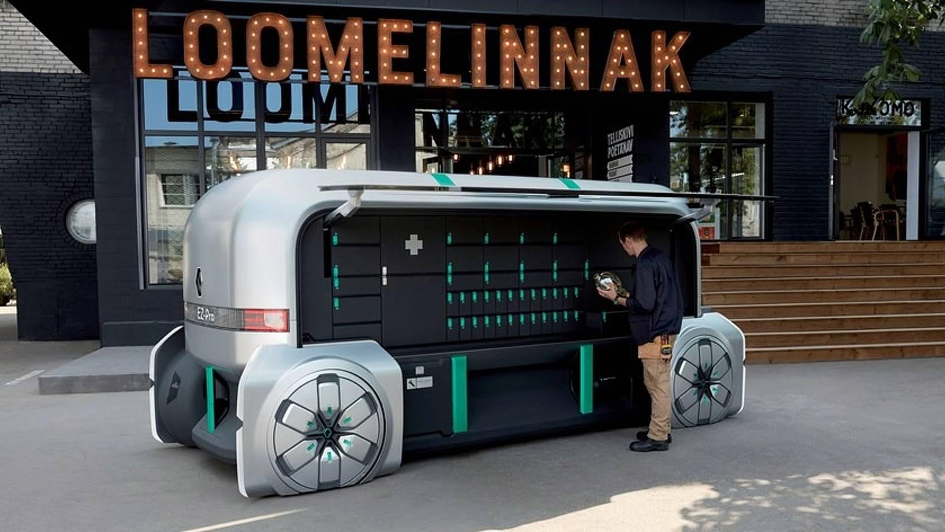 Renaultova vizija dostavnog vozila budućnosti – EZ Pro (GALERIJA)