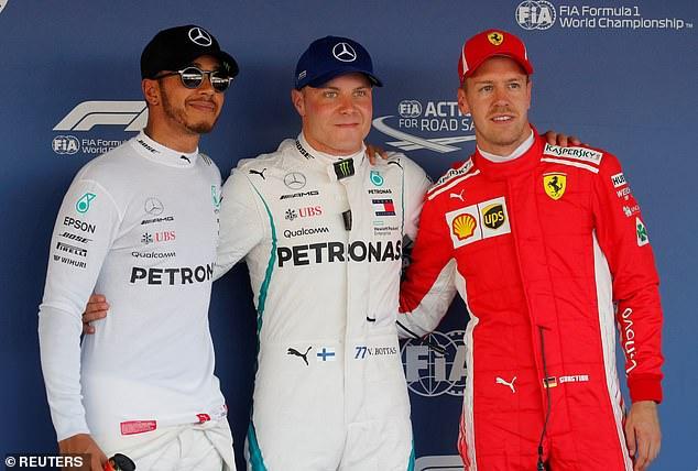 Mercedes ponovo startuje iz prvog startnog reda