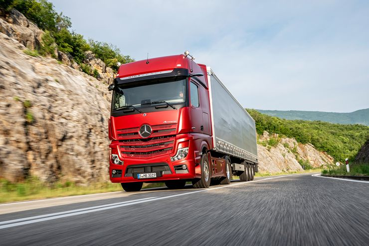 Predstavljen Mercedes-Benz Actros (2019.) – Zbogom retrovizorima