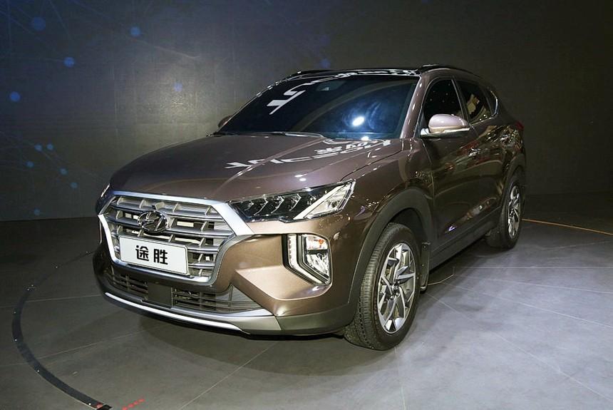 Hyundai Tucson restilizovan specijalno za Kineze