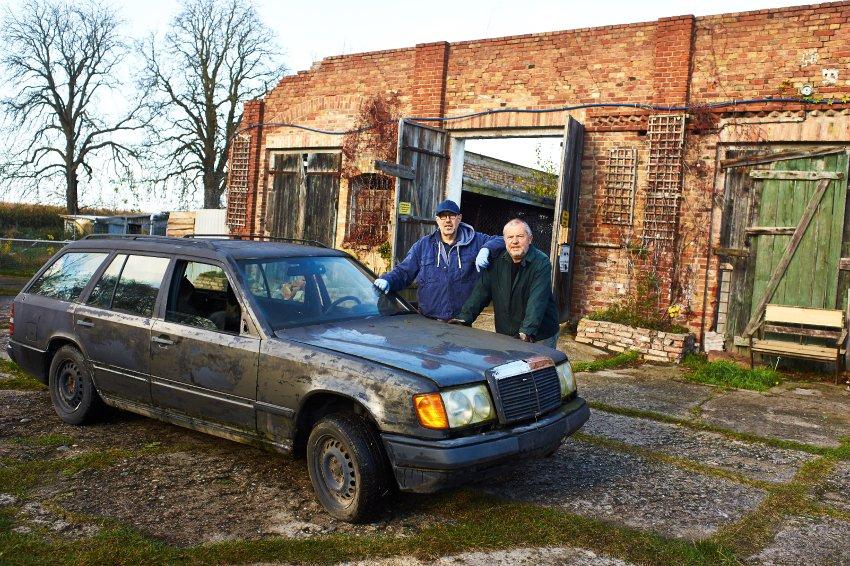 Reanimirali 13 godina mrtav Mercedes W124