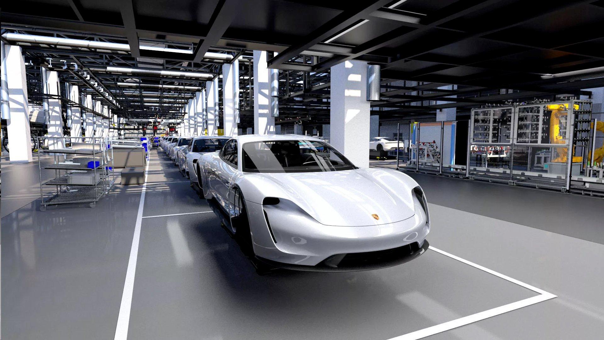 Porsche Taycan cenovno između Cayennea i Panamere