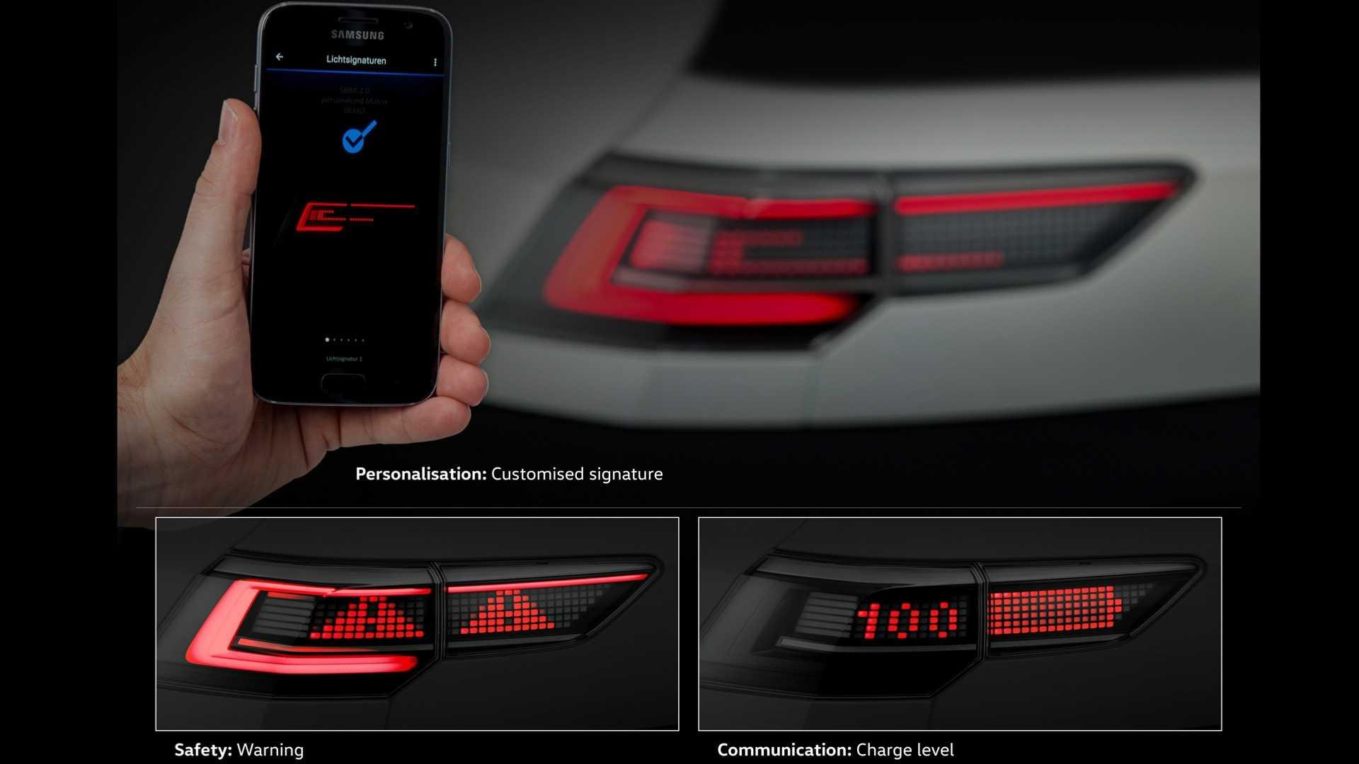 Da li VW novu interaktivnu LED tehnologiju predstavlja na Golfu VIII?