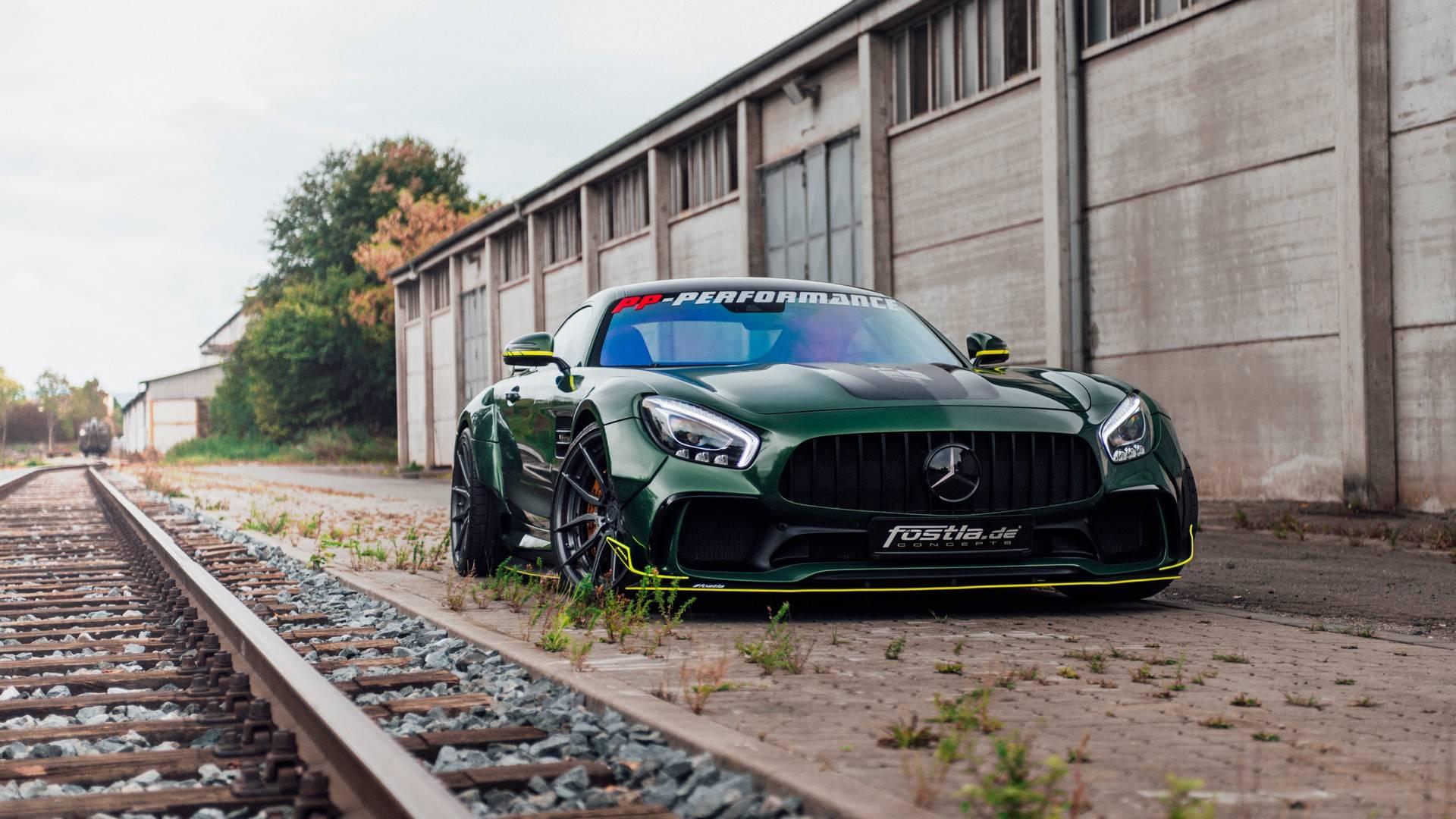 """Mercedes-AMG GT u vidu """"zelene zveri"""" kuće Fostla (GALERIJA)"""