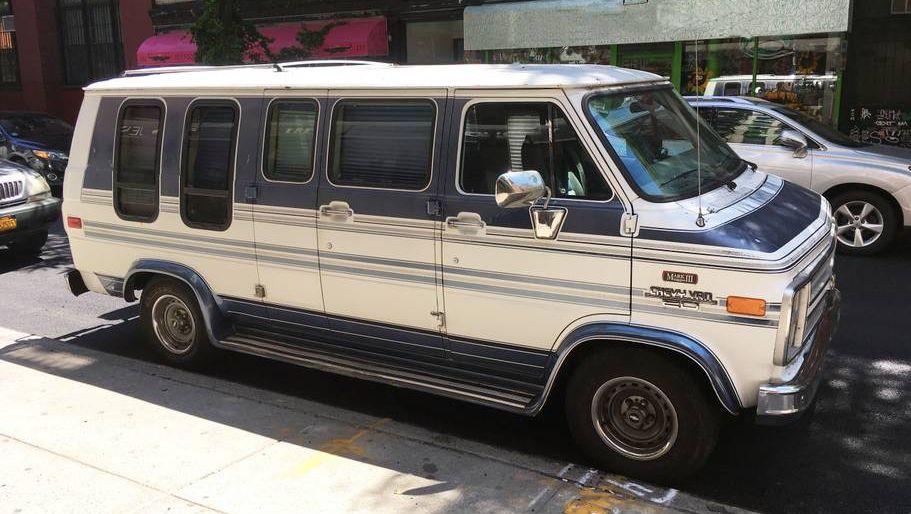 Chevrolet G20 van na AirBnB sajtu u Njujorku?