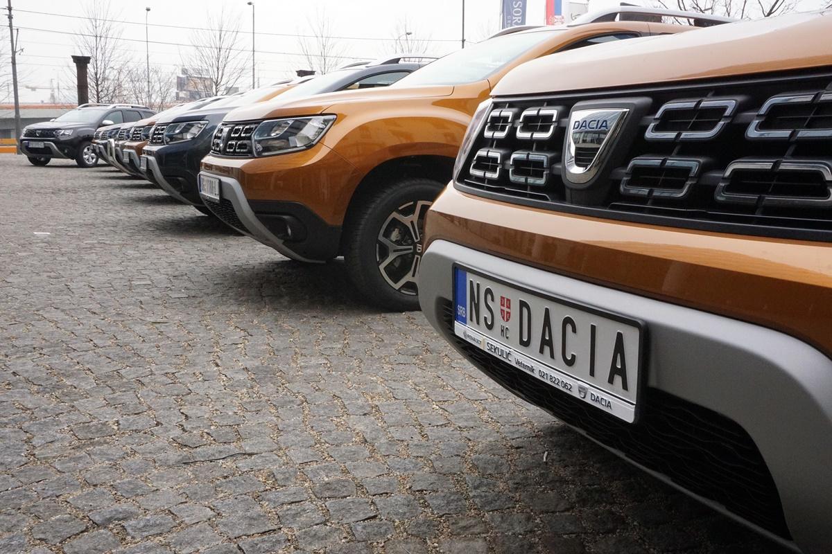 Dacia Duster dobija novu pogonsku grupu i info-zabavni sistem