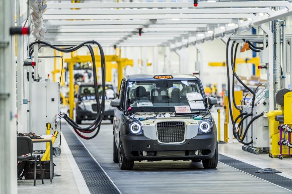 Veliki pad proizvodnje automobila u Velikoj Britaniji