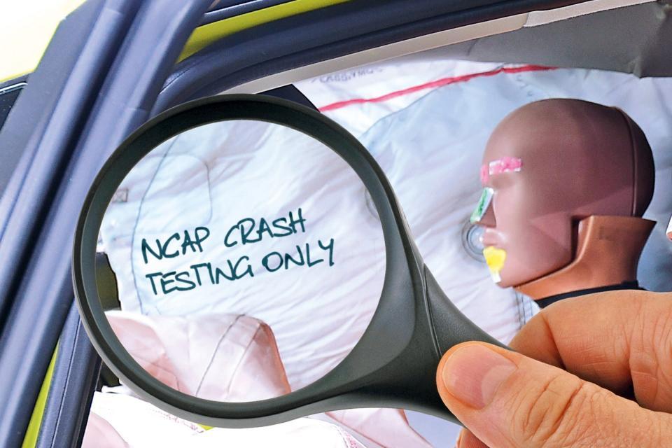 Euro NCAP pronalazio sumnjivo obeležene komponente na testnim vozilima