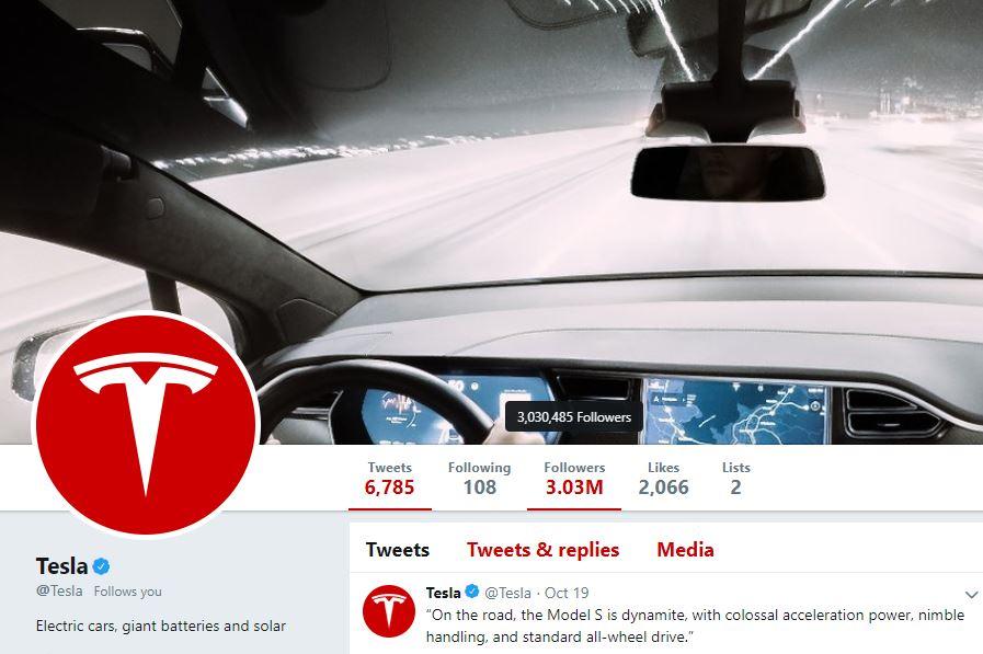 Tesla nadmašio Mercedes-Benz u Twitter areni