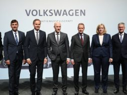 Volkswagen Holds General Shareholders' Meeting