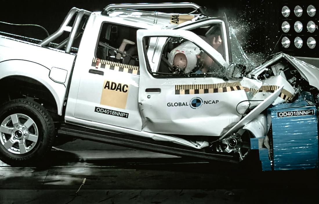Tri modela su dobila po tri zvezdice a Nissan NP300 Hardbody šokantnih nula