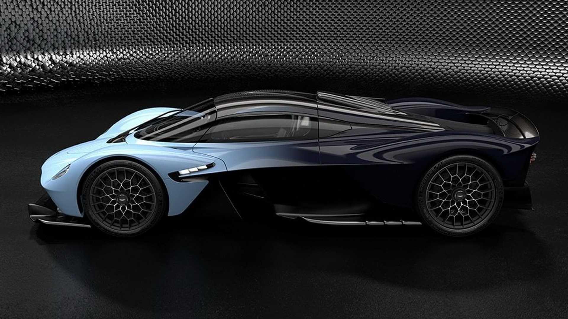 Aston Martin Valkyrie – nove zvanične slike (VIDEO)