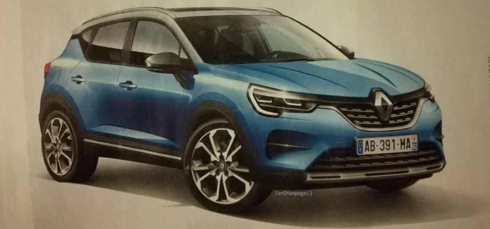 Novi Renault Captur – prva procurela fotografija