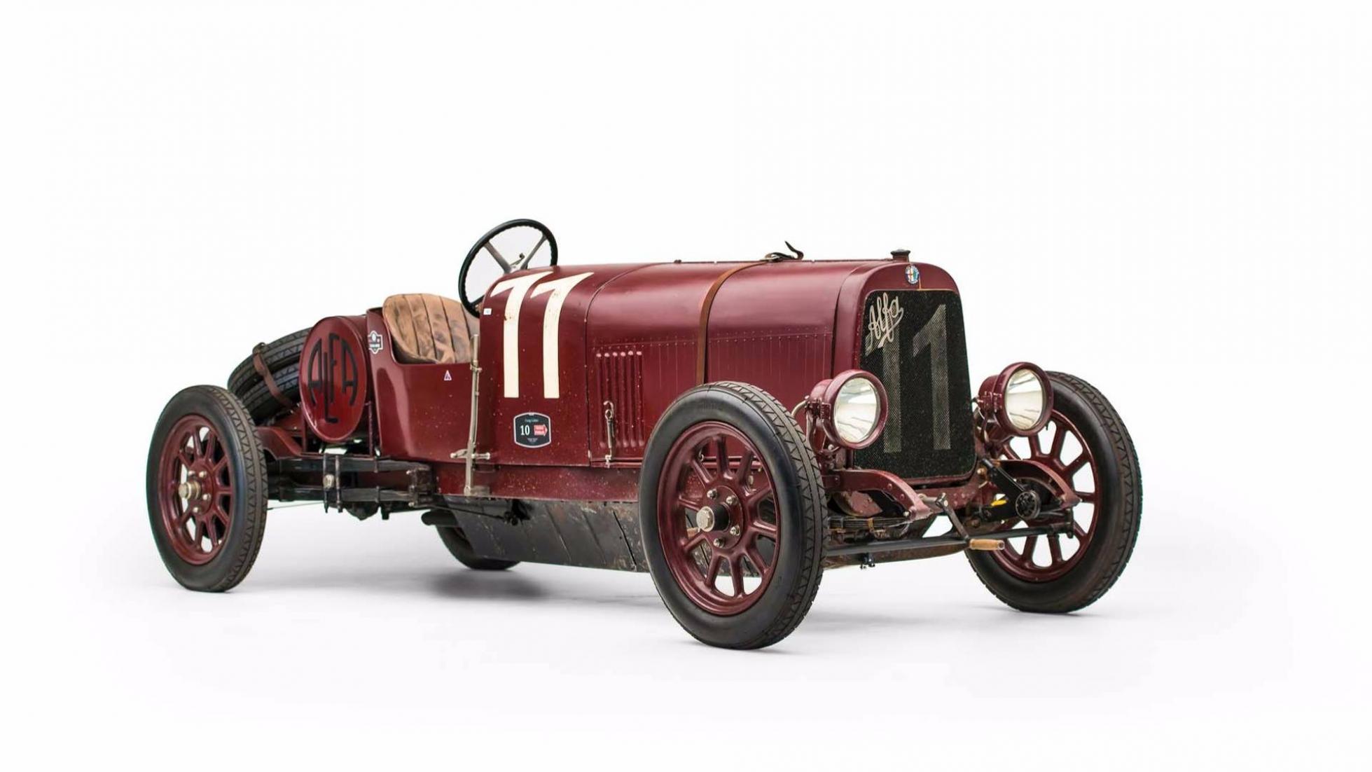 Zanimljivost dana: Najstariji primerak kompletne Alfe Romeo na svetu