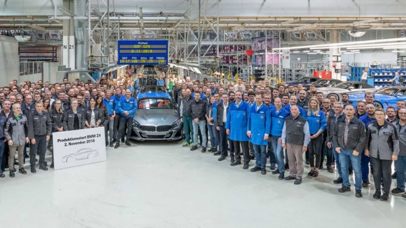 Započela proizvodnja BMW-a Z4 u Magna Steyr fabrici