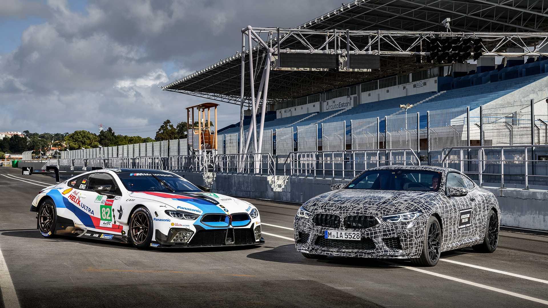 BMW M8 prototip i M8 GTE na trkačkoj stazi (VIDEO I GALERIJA)