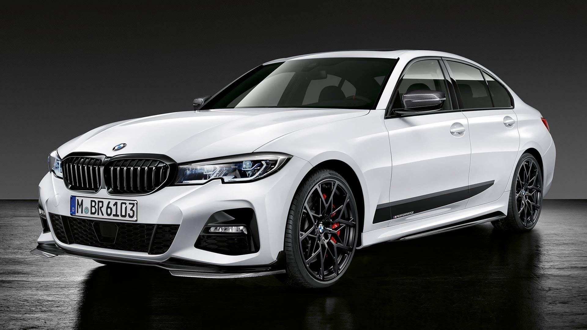 Prvi pogled na BMW serije 3 sa M Performance komponentama (Video)