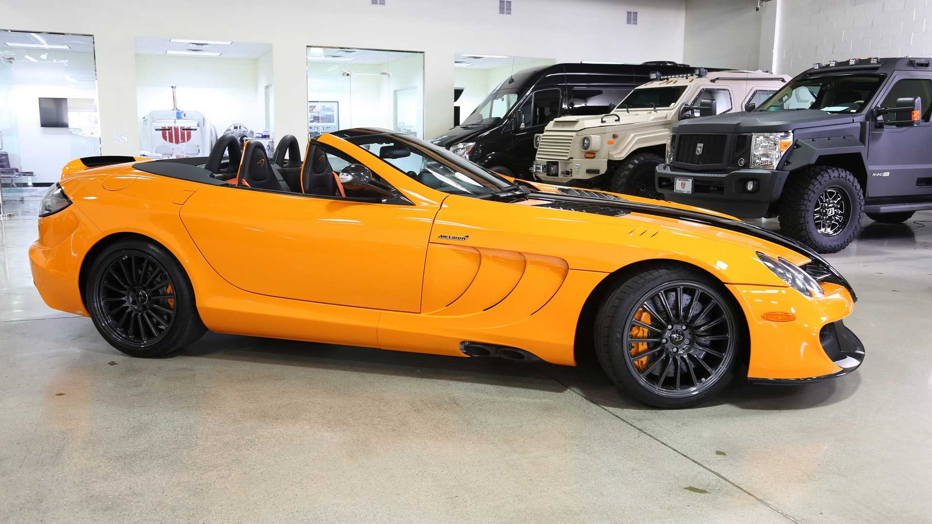 Mercedes-Benz SLR 722S Roadster McLaren Edition na prodaju